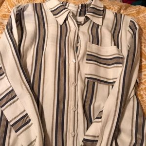 Long sleeve button up from Francesca's